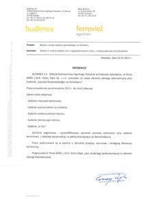 Referencje - Budimex
