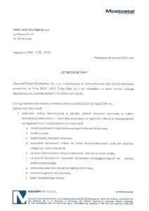 Referencje - Mostostal - EL Opole-1
