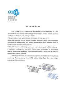 Referencje - CFE