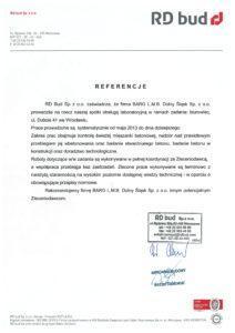 referencje dla BARG LMB