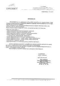 Referencje - Drobet
