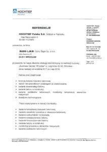 Referencje - Hochtief - Str.1