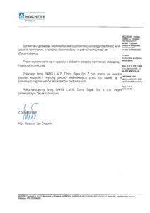 Referencje - Hochtief - Str.2