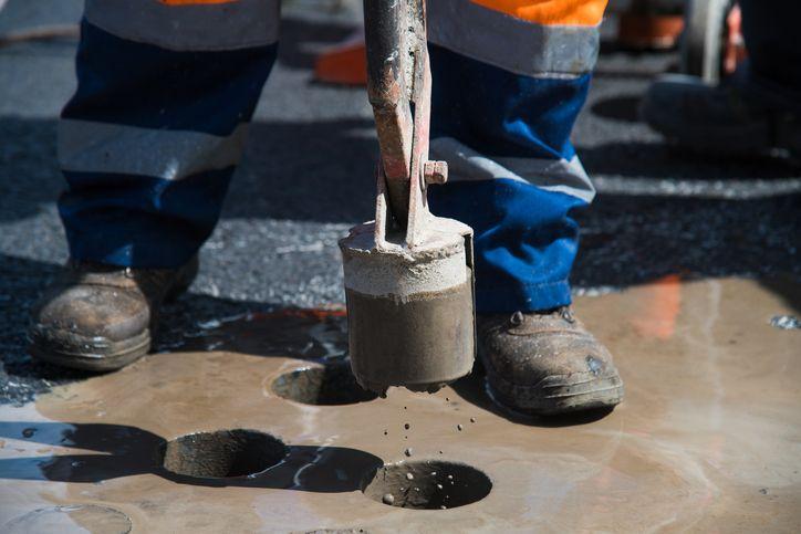 badanie asfaltu