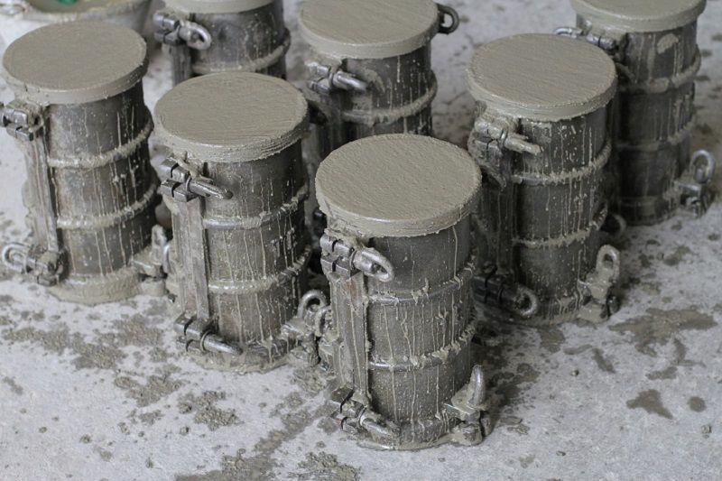 próbki betonu